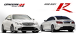 Mercedes E class coupe wide body expression Motorsport