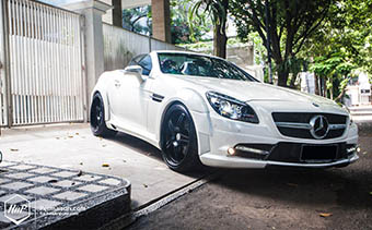 SLK R172 wide body Expression Motorsport